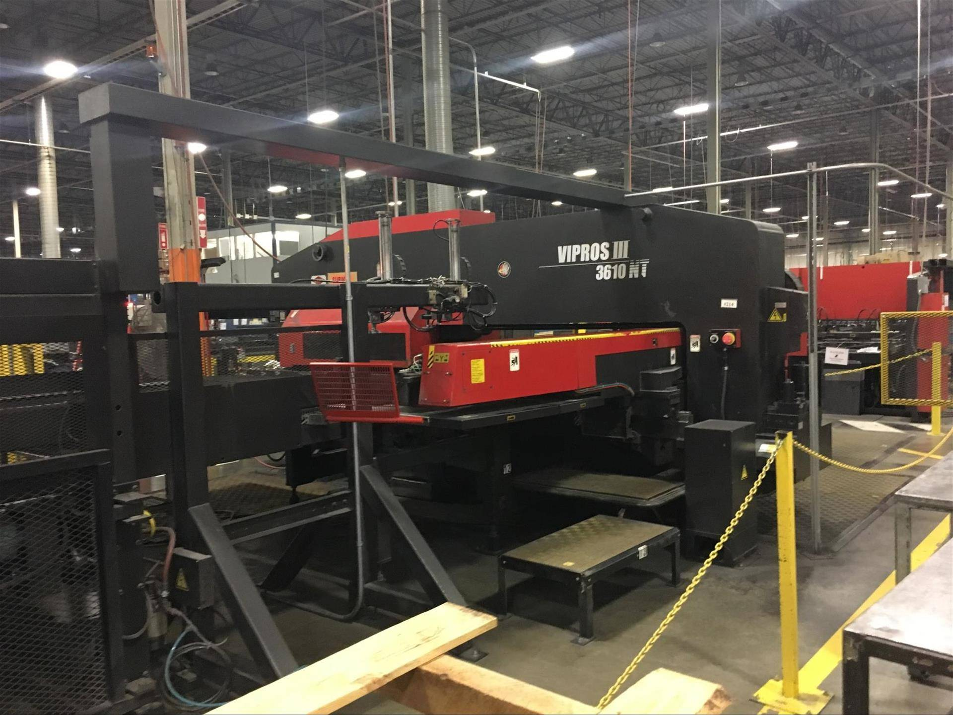 While most of the Amada Turret Punch line can be accurized and refurbished  in one single production shift, there are some exceptions such as the Amada  ...